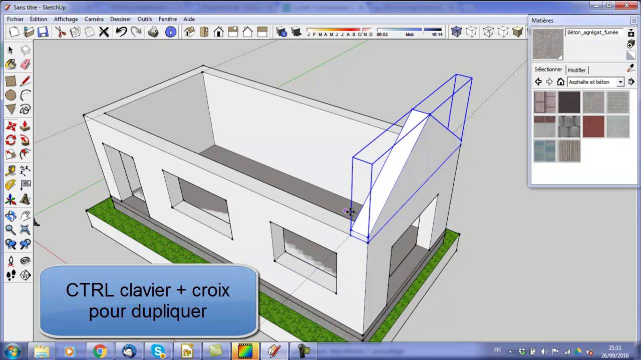 Dessin Construction Maison Etapes Construction Maison Avec Sketchup