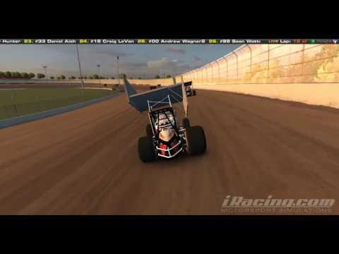 iRacing Dirt - Eldora Speedway Sprintcar
