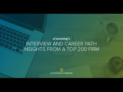 Interview and Career Path Insights From a Top 200 Firm