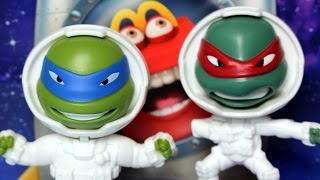 Teenage Mutant Ninja Turtles in Space 🍟 McDonald's Happy Meal Toy 🍎 Fantastic Voyage Turtles