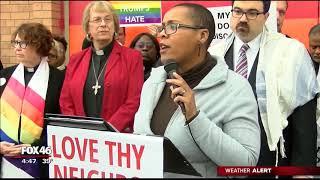 Fox 46: Faith Leaders Lead Unity Vigil at Wedgewood Church