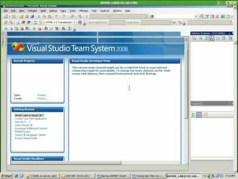 ( WEBFORM ASP.NET C# )Video hướng dẫn kết nối database và validate checkbox
