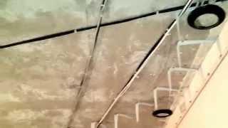 Многоуровневый натяжной потолок безщелевой(, 2014-04-14T17:42:42.000Z)