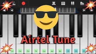 Airtel Tune On Mobile Piano.