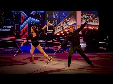 Ian 'H' Watkins' Rhythmic Performance to 'Don't Rain On My Parade' - Tumble: Episode 4 - BBC One