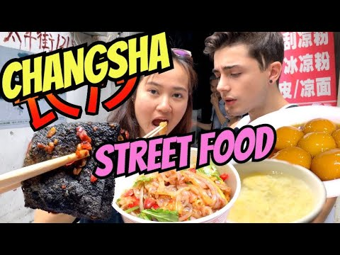 Changsha Street Food Rampage! STINKY Tofu! Wine WITH EGG!
