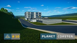 Planet Coaster: Ep. 10: Rebuild: Road Maintenance Depot - Maintenance Parking