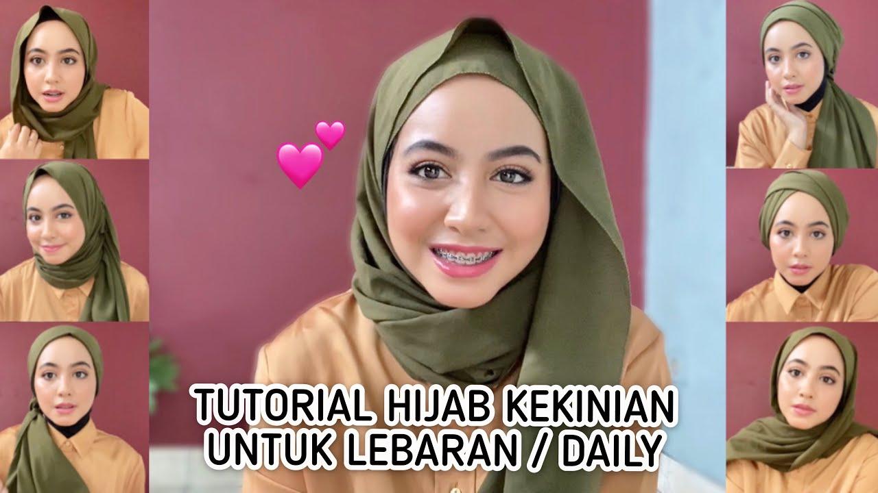 Tutorial Hijab Pashmina 2020 Elegan Modis Youtube