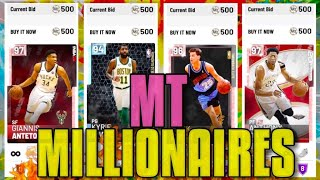 MT MILLIONAIRES: SNIPE FILTERS TO MAKE 100K MT A HOUR ON NBA 2K19 (Episode 14)