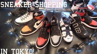 SNEAKER SHOPPING IN TOKYO(YEEZY'S,BAPE,SUPREME,ETC.)