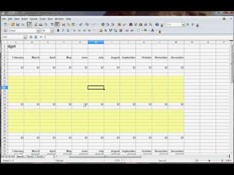 Household Budget Spreadshet - How to Create a household budget spreadsheet in Excel from YouTube · Duration:  6 minutes 7 seconds