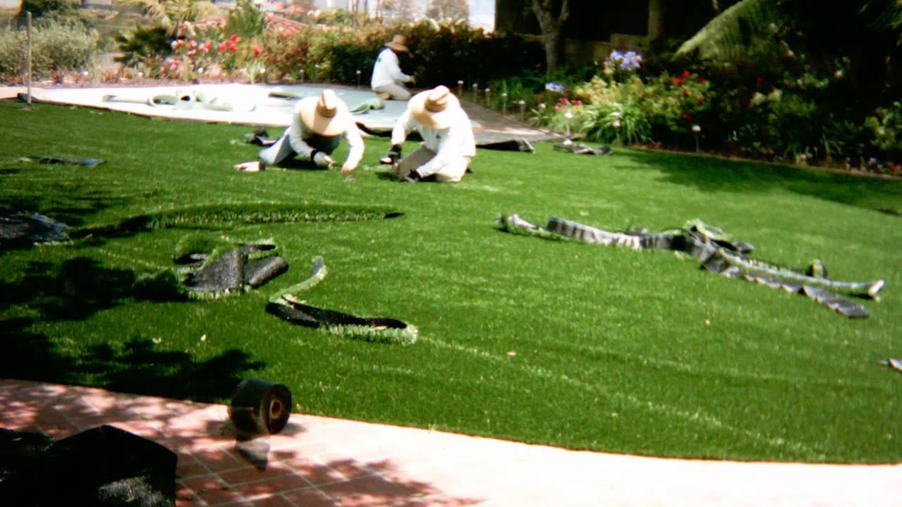artificial turf installation putting green u0026 backyard san