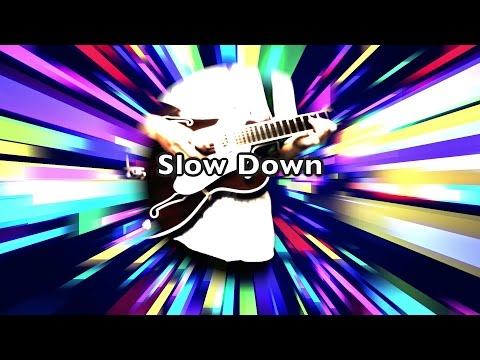 Slow Down - The Beatles karaoke cover mp3