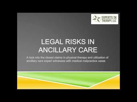Legal Risks in Ancillary Care