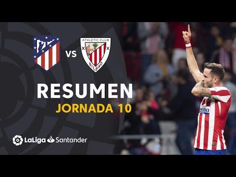 Resumen de Atlético de Madrid vs Athletic Club (2-0)