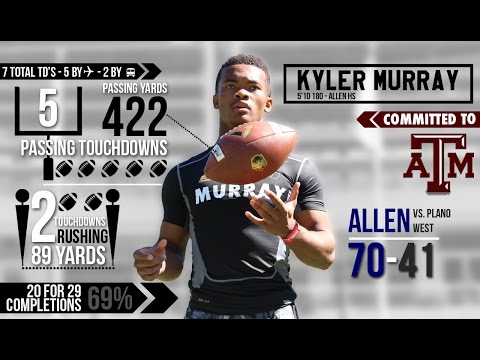 KYLER MURRAY Puts Up 7 TD