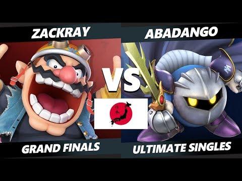 Japan Smash Ultimate Tournament - GW | Zackray (Wario) Vs. SHI | Abadango (Meta Knight) SSBU GF thumbnail