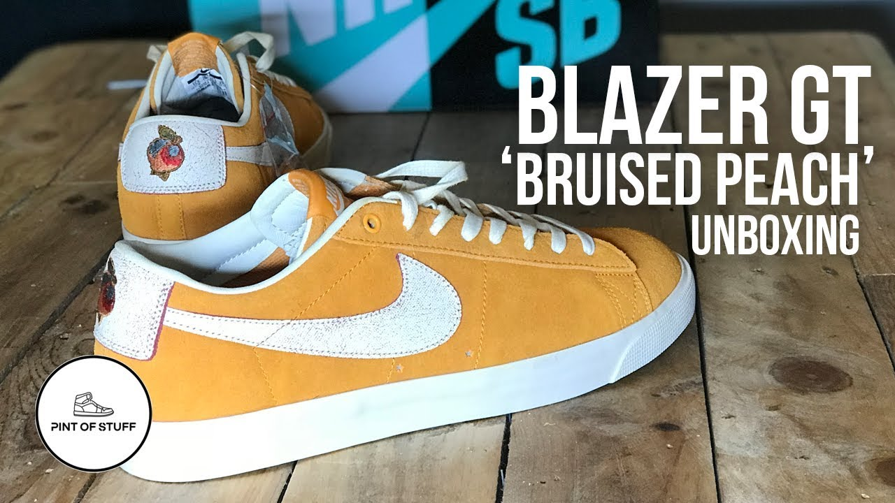 finest selection 294b2 bbaf4 sneakerunboxing sneakerreview bruisedpeachblazer