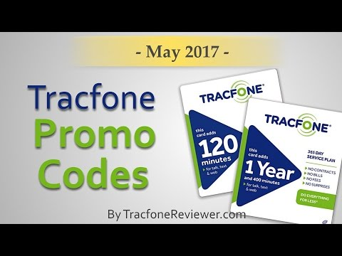 Tracfone Promo Codes - May 2017 - TracfoneReviewer
