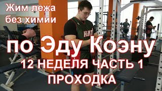 Жим лежа по Эду Коэну видео: 12 / Bench press by Ed Coan