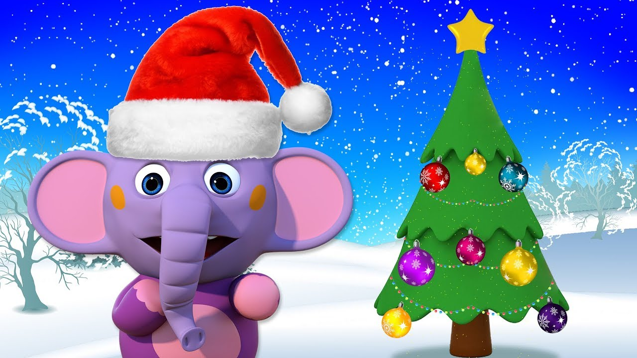 Learn colors With Christmas Tree | CHRISTMAS SPECIAL | Learn Colors For Toddlers | Little Elphie