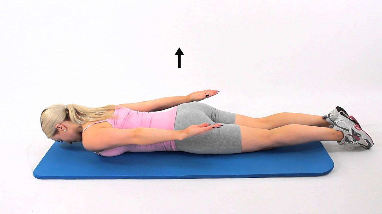 Prone active wide extension - YouTube