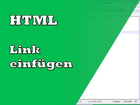 HTML Link Einfügen | Tutorial