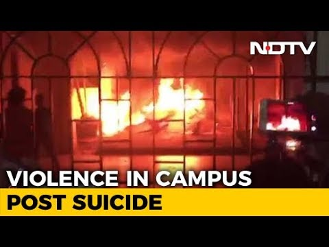 Chennai University Students Asked To Leave Hostel After Night Of Violence