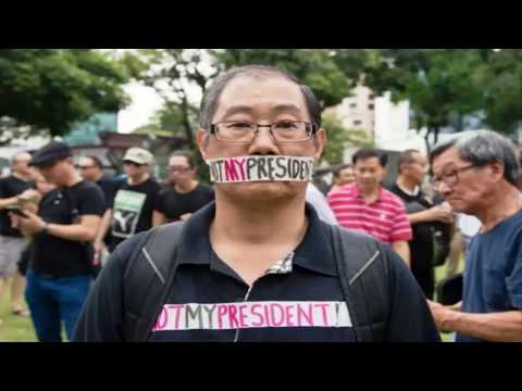 HUMAN SINGAPORE to RELAX free SPEECH, ASSEMBLY LAWS