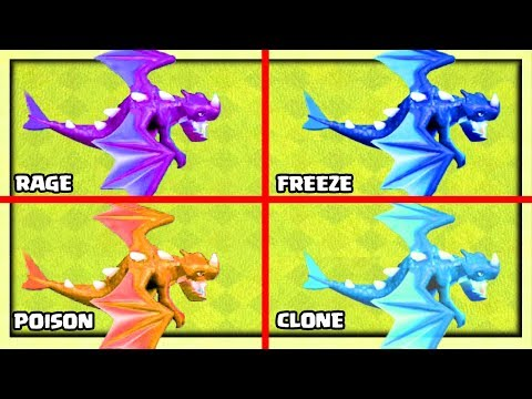 4 Different ELECTRO DRAGONS?! 4 NEW Clash of Clans Attack Strategies!
