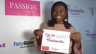 The Passionistas Project at Passion to Paycheck with Simone Jackson