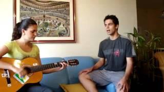 Cantores de Lagartos de Saturno at home com... Luciana Mello - Simples Desejo