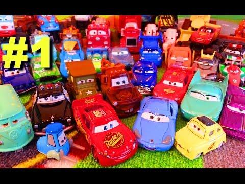 Видео: Тачки Моя Коллекция 1 Молния Маквин Мэтр и их Друзья Мультики про Машинки для Детей
