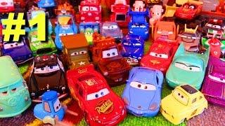 Тачки Моя Коллекция #1 Молния Маквин Мэтр и их Друзья Мультики про Машинки для Детей
