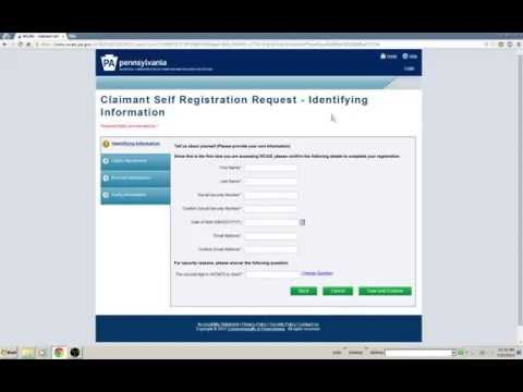 How to login to WCAIS. Pennsylvania automated workers compensation system.