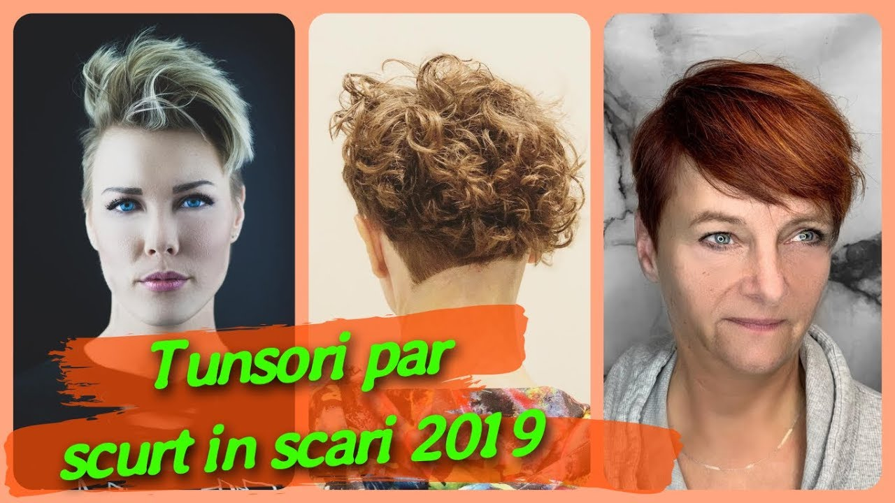20 Modele De Tunsori Par Scurt In Scari 2019 Youtube