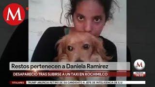 Confirman que restos óseos encontrados en Tlalpan son de Daniela Ramírez