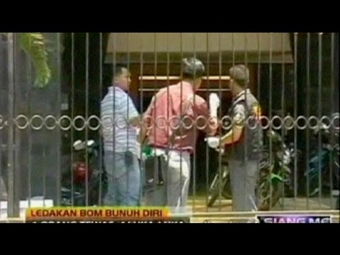 Suicide bomber targets Indonesian church