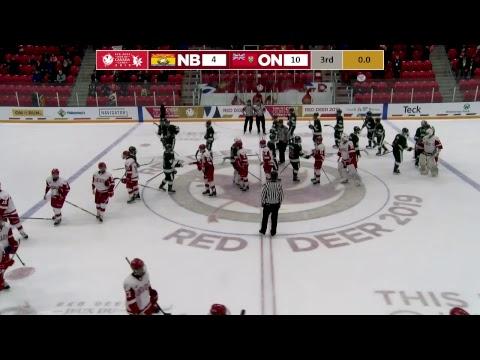 2019 CWG - Men's Hockey - Game 11 - NB vs ON