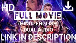 ✓How to download Avengers:Endgame full movie (hindi-english)dual audio,HD