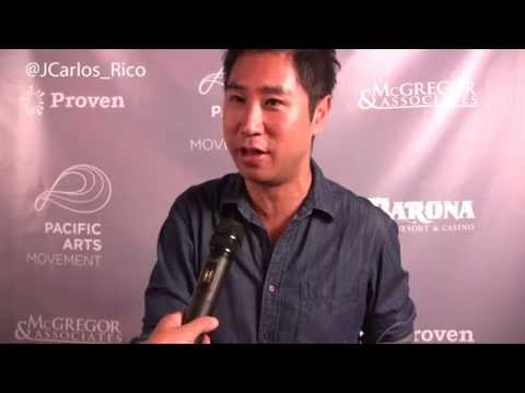 Interview in Spanish with Actor Esteban Ahn about the film Seoul Searching at #SDAFF2015