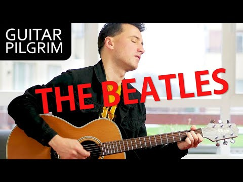 TOP 10 BEATLES songs for ACOUSTIC guitar!