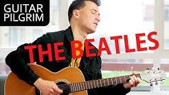 TOP 10 BEATLES songs for ACOUSTIC guitar!