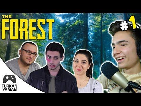 The Forest Multiplayer - Bölüm 1 - PİKNİĞE GELMİŞTİK AMAA!! w/Kaya Giray, kWhane, EservsGökçe