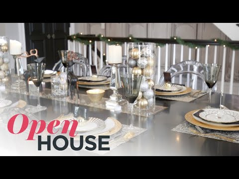 A Glamorous Take on Hosting for the Holidays | Open House TV