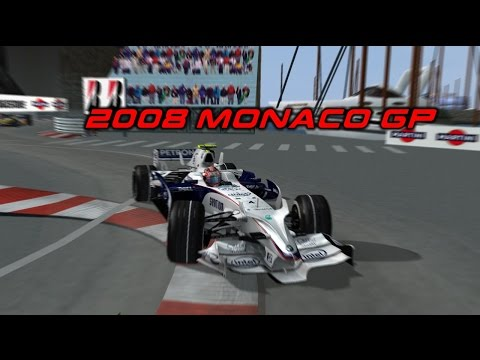 F1 Challenge 2008 - Monaco GP [Back to Front]