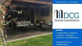 VENTA CASA EN PIEDRA ROJA // CASA DE 1 PISO (140 mts2) // PISCINA // QUINCHO