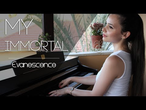 Evanescence - My Immortal | Piano cover by Yuval Salomon