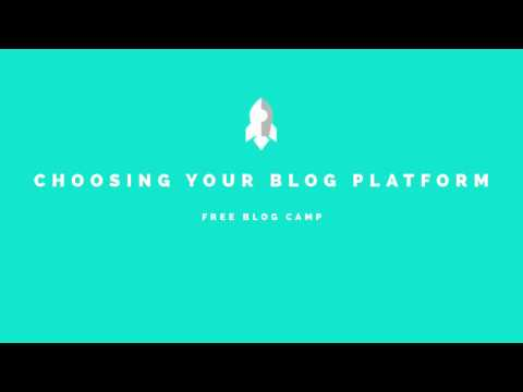 How To Pick The Best Blog Platform