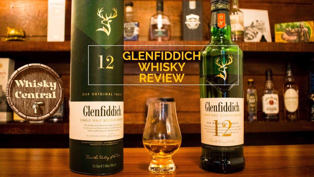 GLENFIDDICH 12 Single Malt Scotch Whisky Review - YouTube